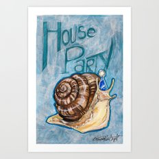 House Party Art Print