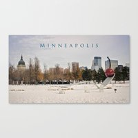 Minneapolis Canvas Print