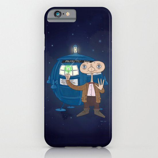 Dr. Who E.T. iPhone & iPod Case