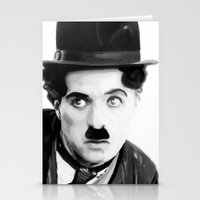 Charlie Chaplin Stationery Cards