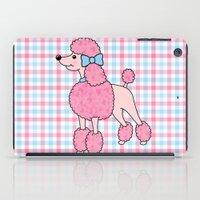 Pink Poodle iPad Case