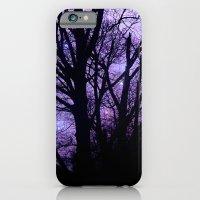 Purple Starry  Halloween iPhone 6 Slim Case