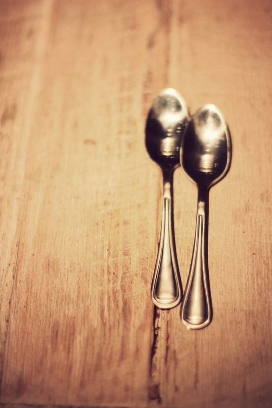 Two spoons Art Print