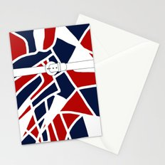 Red White & Blue Stationery Cards