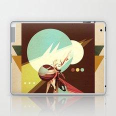 Vintage Space Poster Series I - Explore Space - It's Fun! Laptop & iPad Skin