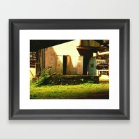 GreenHouse Framed Art Print