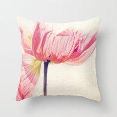 Isis. Poppy Flower Photo… Throw Pillow
