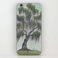 Sunny Live Oak iPhone & iPod Skin