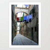 Venice Alley Art Print