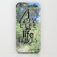 Life is just iPhone 6 Slim Case