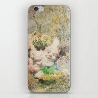 Dans Mon Jardin iPhone & iPod Skin