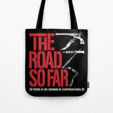 The Road So Far Tote Bag