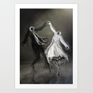 Art Print featuring Glad Rags by Arnaud De Vallois