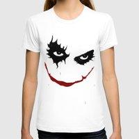 joker T-shirts featuring Joker by Sport_Designs