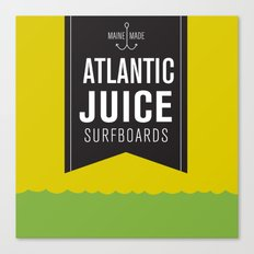 Atlantic Juice Canvas Print