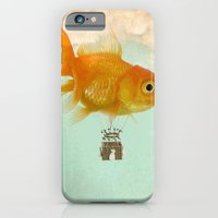 iPhone & iPod Case featuring balloon fish 03 by vin zzep