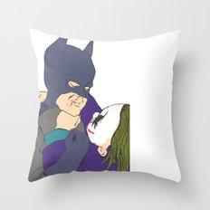 The childhood hero Throw Pillow
