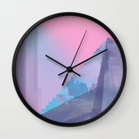 Crystal Wall Clock