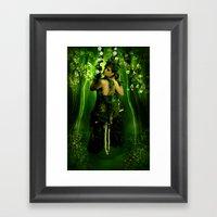 Swinging On A Dream Framed Art Print