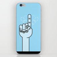 Finger Wag iPhone & iPod Skin