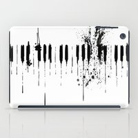 black & white  iPad Case