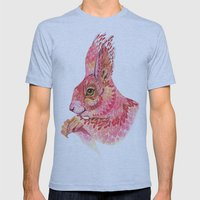 The squirrel magic  Mens Fitted Tee Athletic Blue SMALL