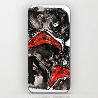 Crow Mouth iPhone & iPod Skin