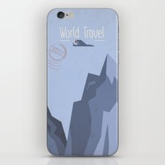 World Travel - Mountains  iPhone & iPod Skin