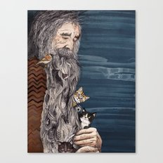 Beardnest Canvas Print