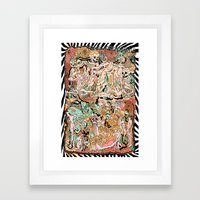 m a r i g o l d Framed Art Print