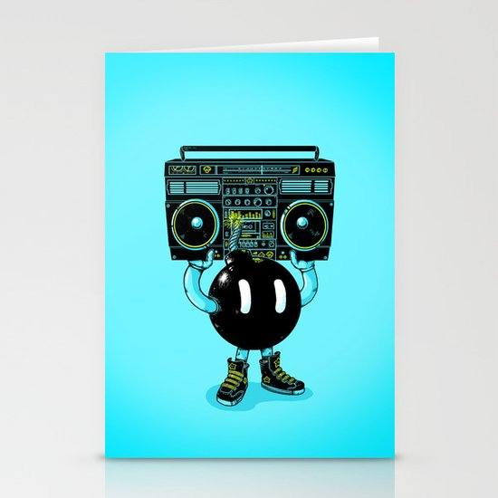 BOOMBOX Stationery Card