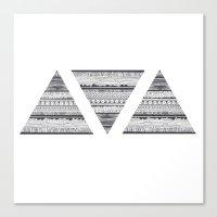 Triáng Canvas Print