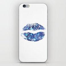 lip number 4 iPhone & iPod Skin