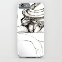 iPhone & iPod Case featuring waiting by Darja Charapova