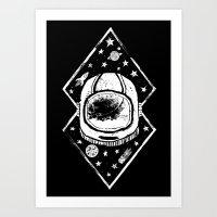 Space Traveller Art Print