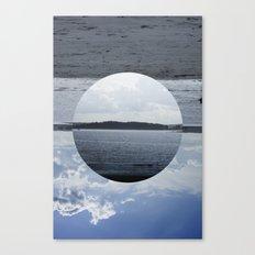 Split Screen Island Canvas Print