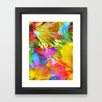 Hibiscus Dream #3 Framed Art Print
