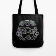 Day Of The Dead Storm Tr… Tote Bag