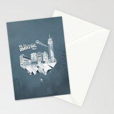 Sick City Stationery Cards