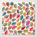 Leaf Colorful Canvas Print