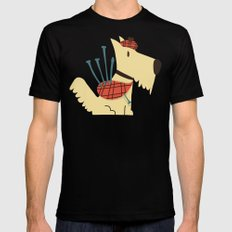Scottish  Terrier - My Pet Mens Fitted Tee Black SMALL
