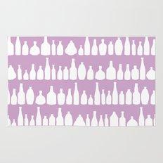 Bottles Pink Rug