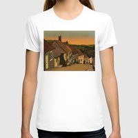 Daybreak Womens Fitted Tee White SMALL