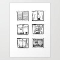 Every Window Is A Story Art Print