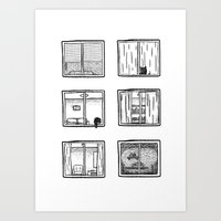 Every Window Is A Story Art Print