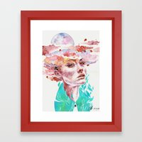 I Came To Earth To Haunt… Framed Art Print