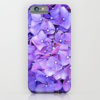 iPhone & iPod Case featuring hydrangeas by Lo Coco Agostino