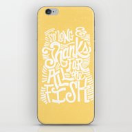 SO LONG & THANKS FOR ALL… iPhone & iPod Skin