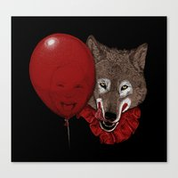 Red Decoy Canvas Print