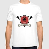 House Haim Mens Fitted Tee White SMALL